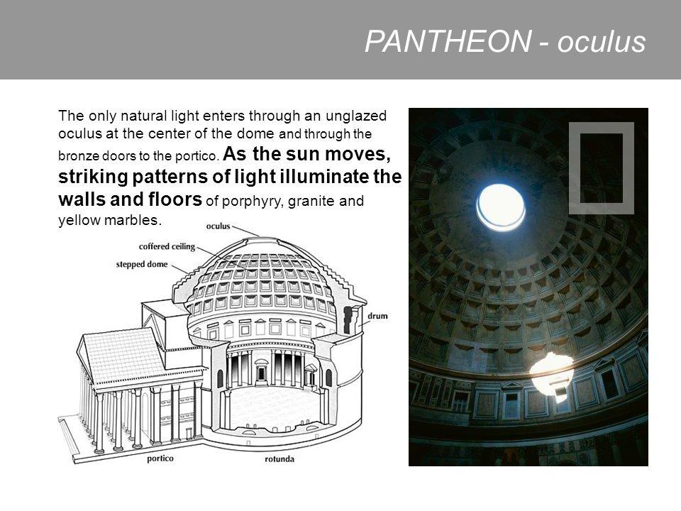 PANTHEON - oculus