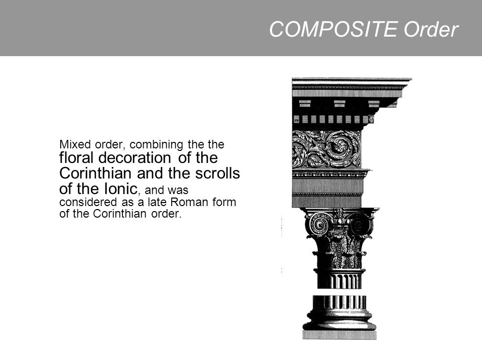 COMPOSITE Order