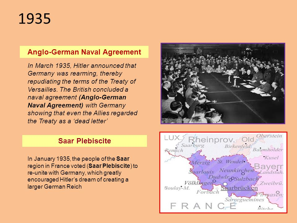 Anglo-German Naval Agreement