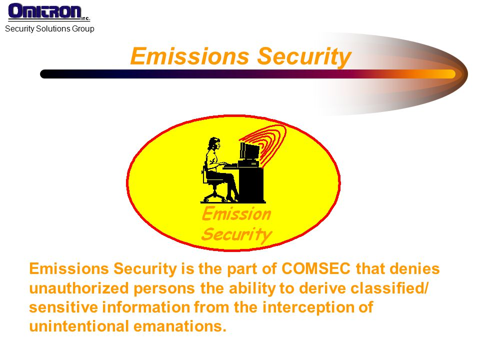 Emissions Security