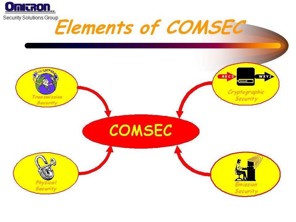 Elements of COMSEC