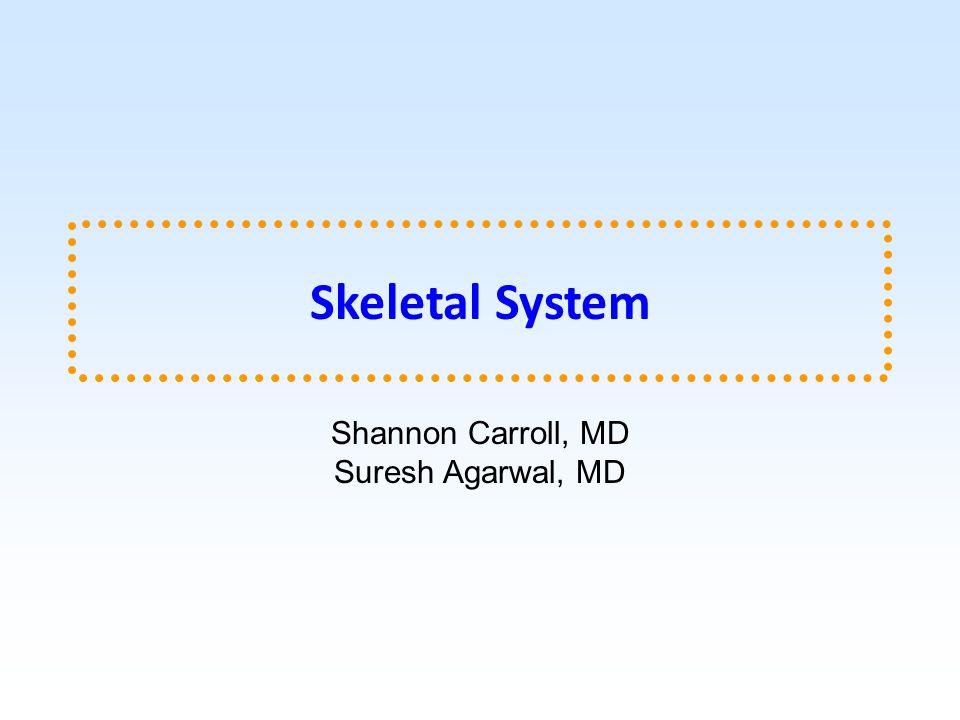 Shannon Carroll, MD Suresh Agarwal, MD