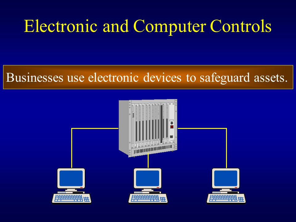 Electronic and Computer Controls