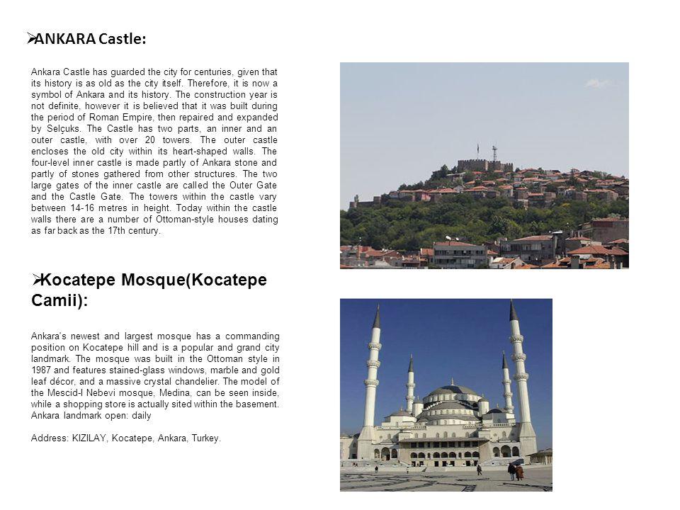 Kocatepe Mosque(Kocatepe Camii):