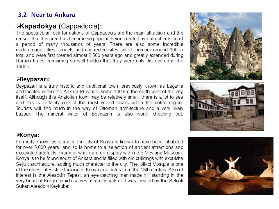 Kapadokya (Cappadocia):