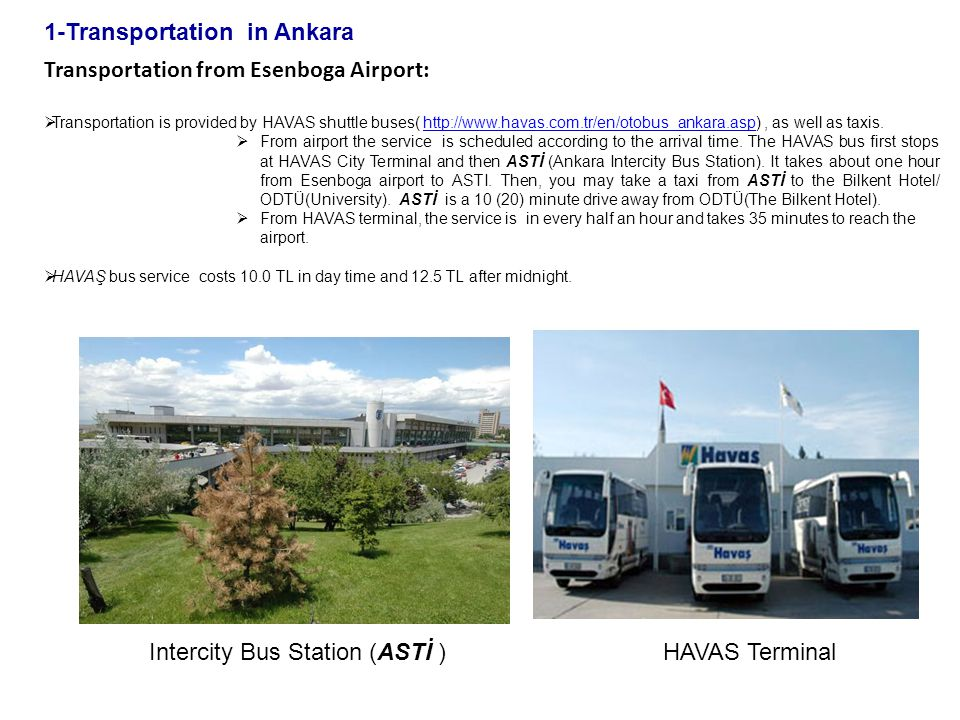1-Transportation in Ankara
