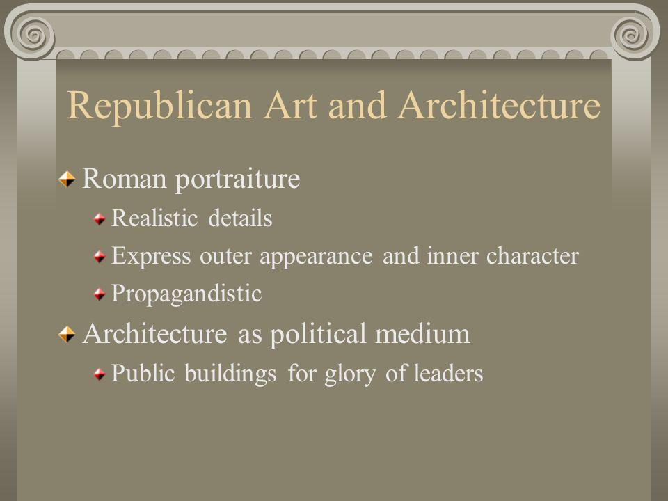 Republican Art and Architecture