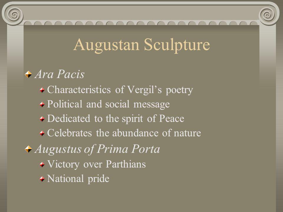 Augustan Sculpture Ara Pacis Augustus of Prima Porta