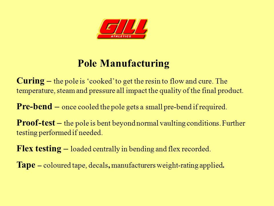 Pole Manufacturing