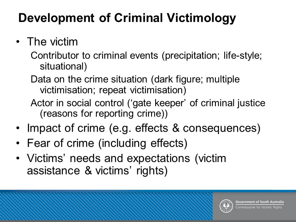 Development of Criminal Victimology