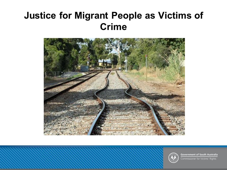 Justice for Migrant People as Victims of Crime