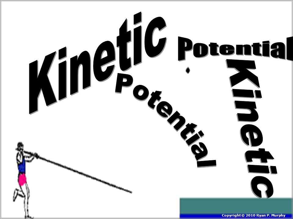 Kinetic Potential Kinetic Potential Copyright © 2010 Ryan P. Murphy