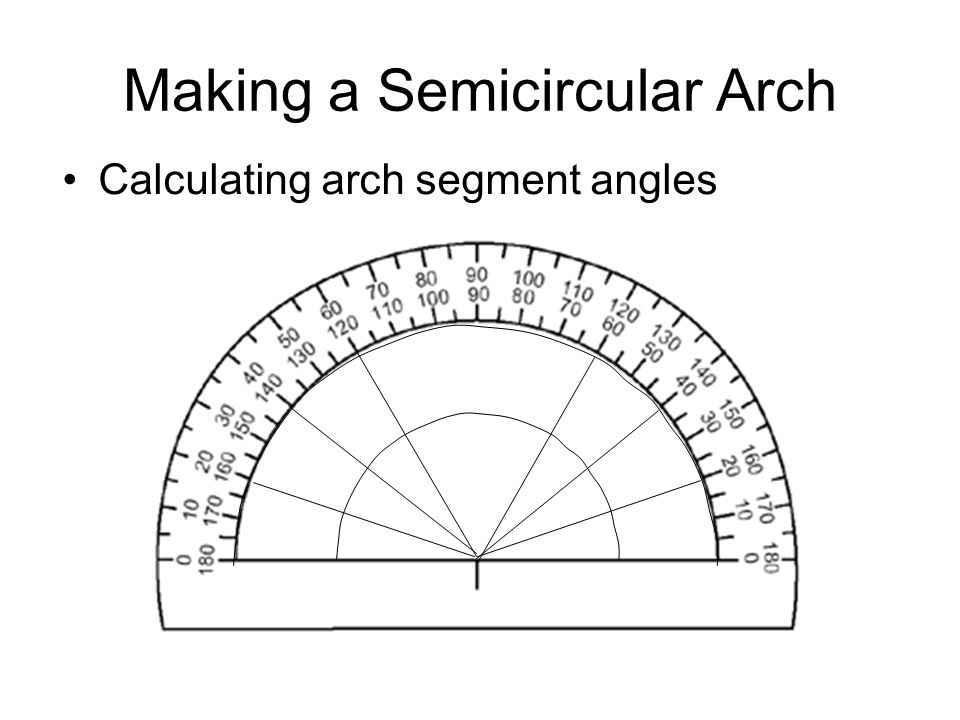 how to draw an ogive arch