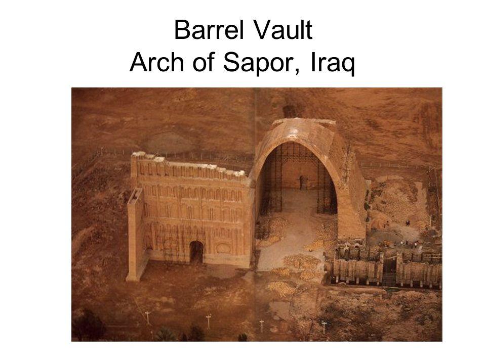 Barrel Vault Arch of Sapor, Iraq