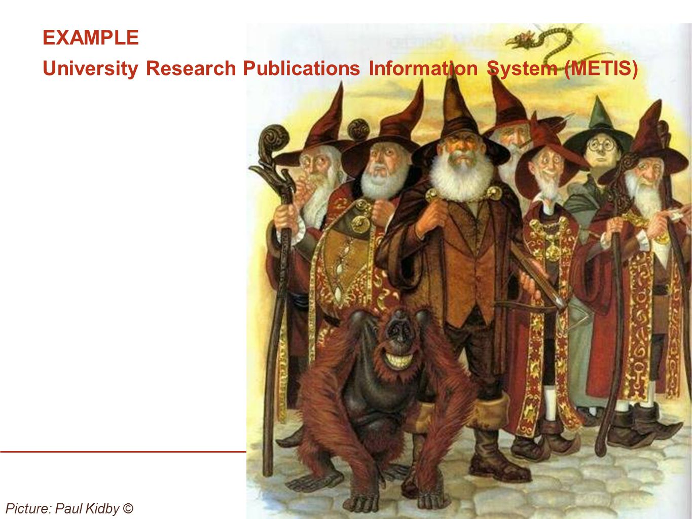 University Research Publications Information System (METIS)