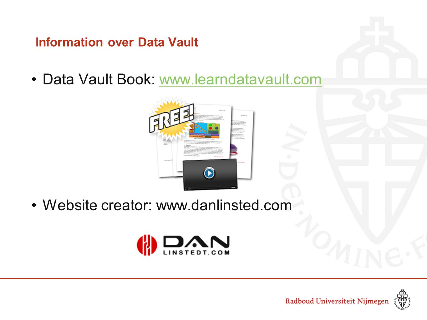 Information over Data Vault