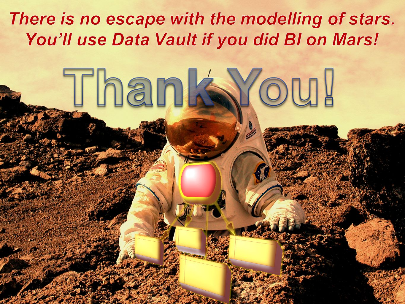 Thank You! There is no escape with the modelling of stars.