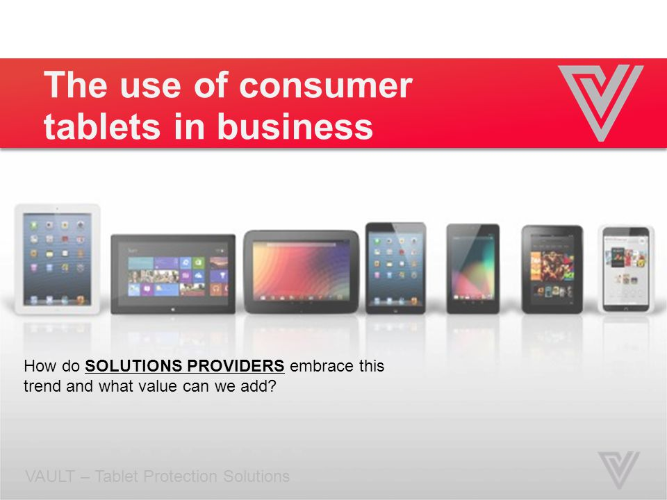 The use of consumer tablets in business