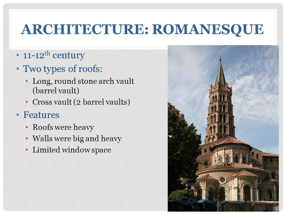 Architecture: Romanesque
