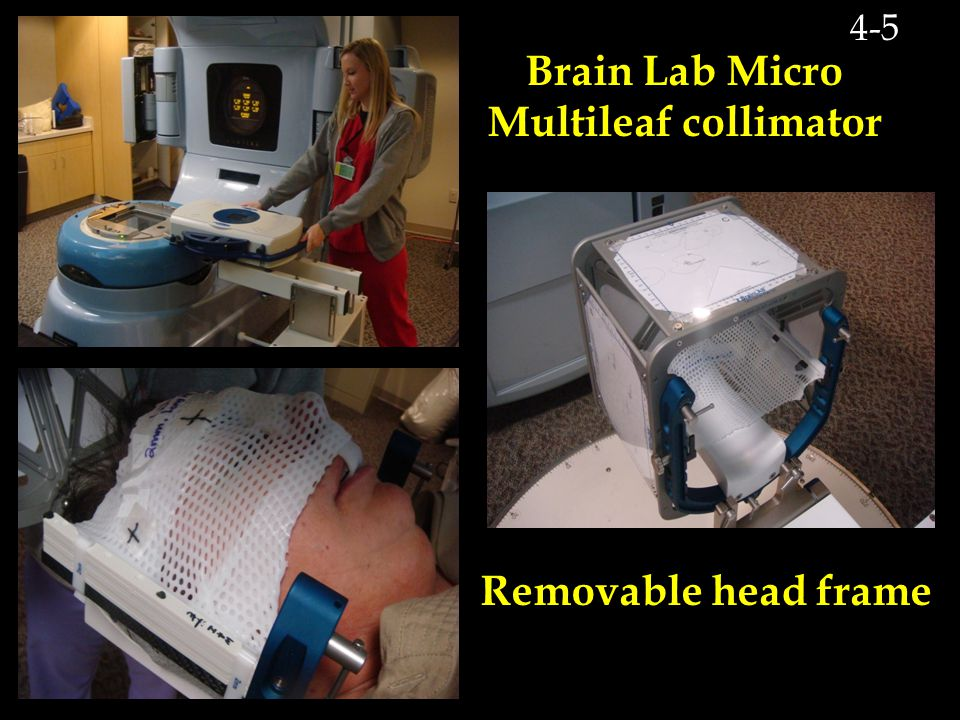 Brain Lab Micro Multileaf collimator