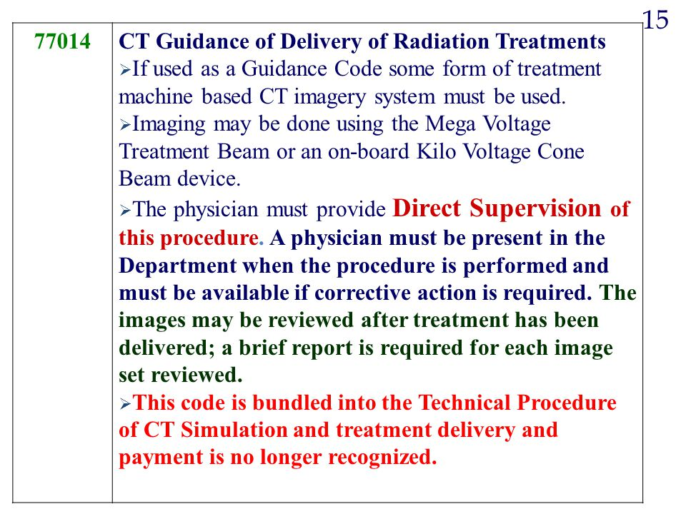 15 77014 CT Guidance of Delivery of Radiation Treatments