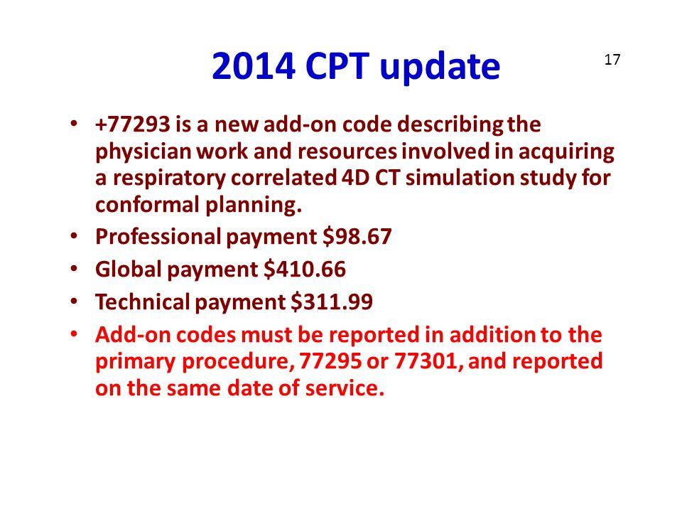 2014 CPT update 17. NIB.