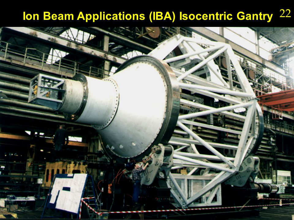 Ion Beam Applications (IBA) Isocentric Gantry