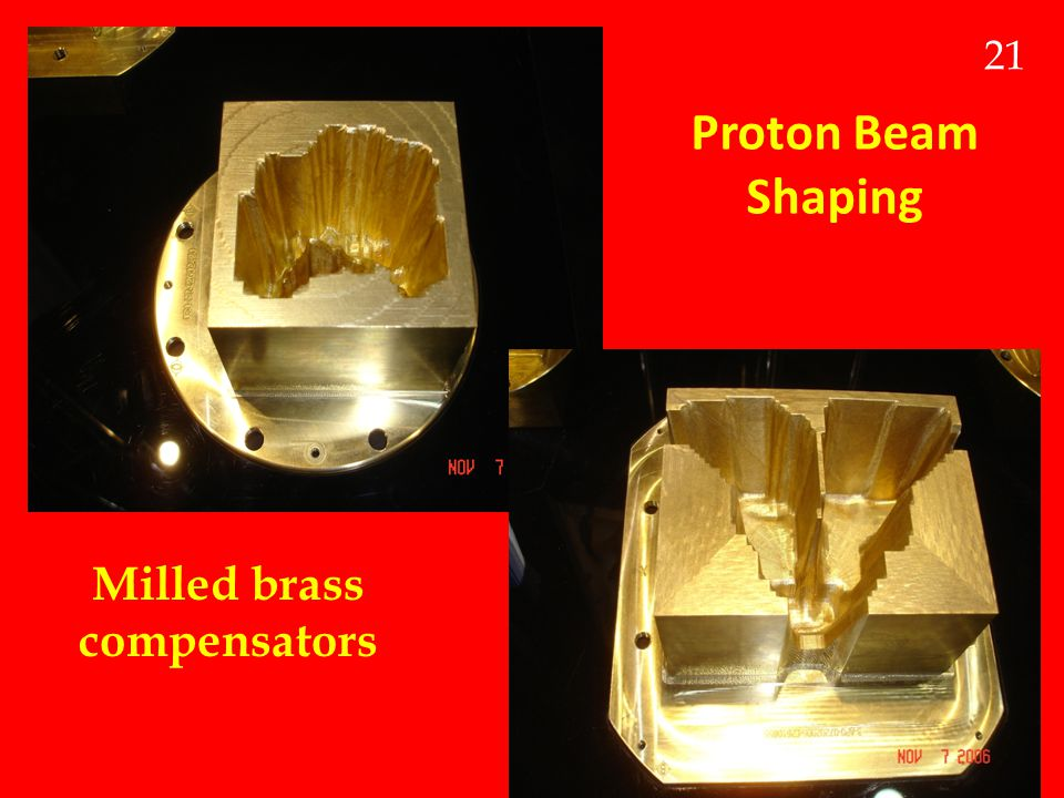 Milled brass compensators