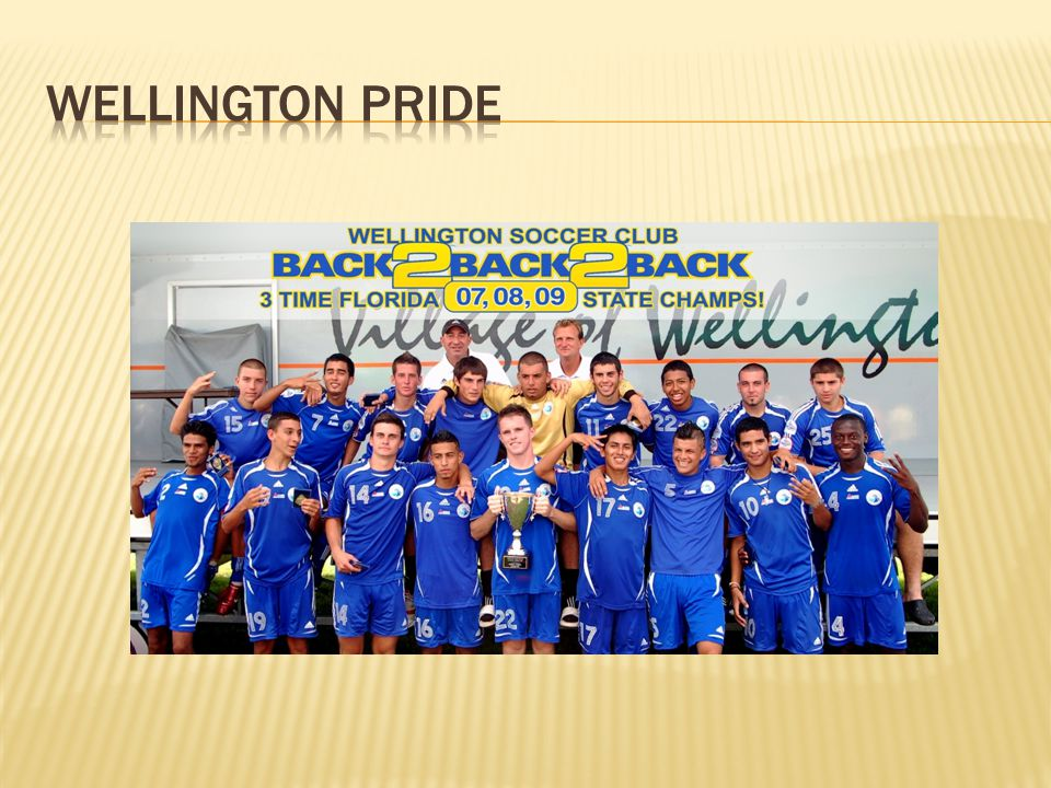 Wellington pride