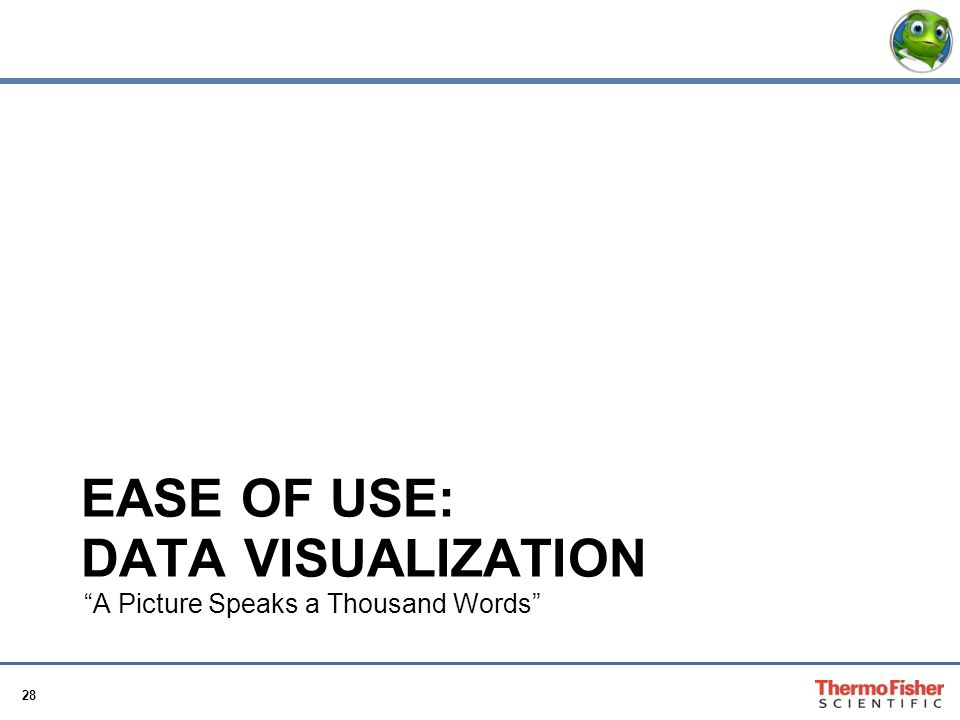 Ease of use: Data Visualization