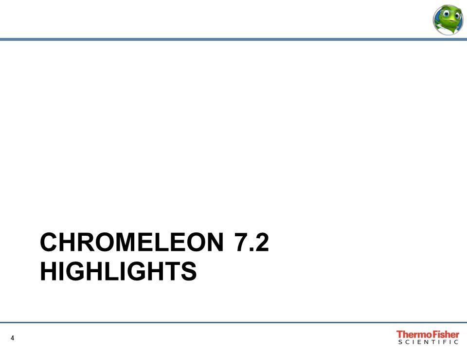 CHROMELEON 7.2 Highlights