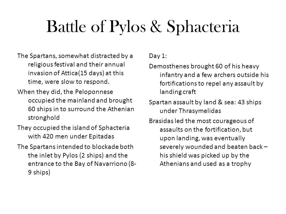 Battle of Pylos & Sphacteria
