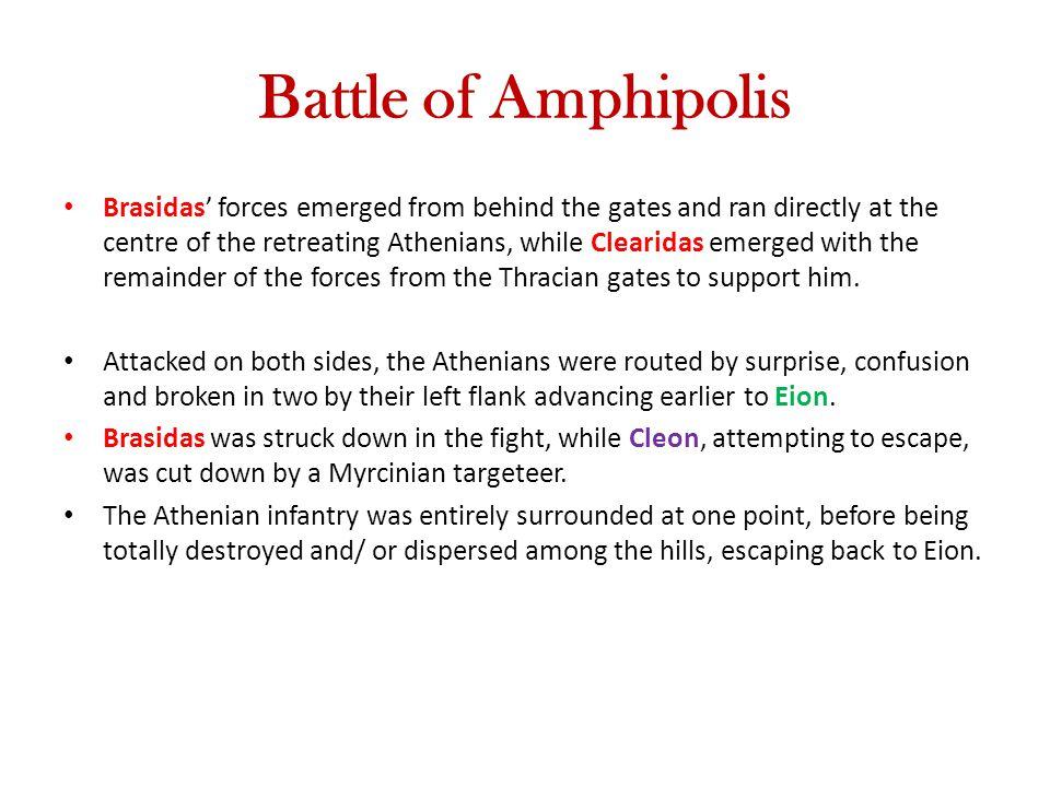 Battle of Amphipolis