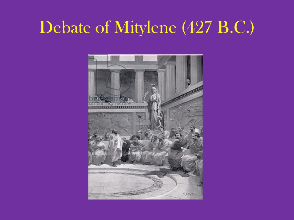Debate of Mitylene (427 B.C.)