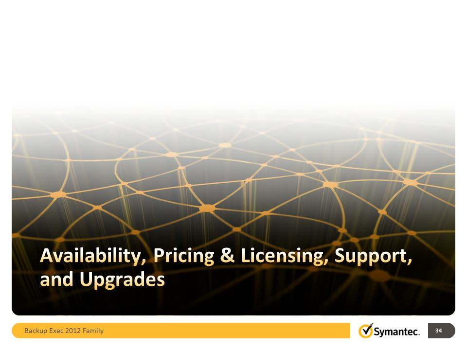 Availability, Pricing & Licensing, Support, and Upgrades