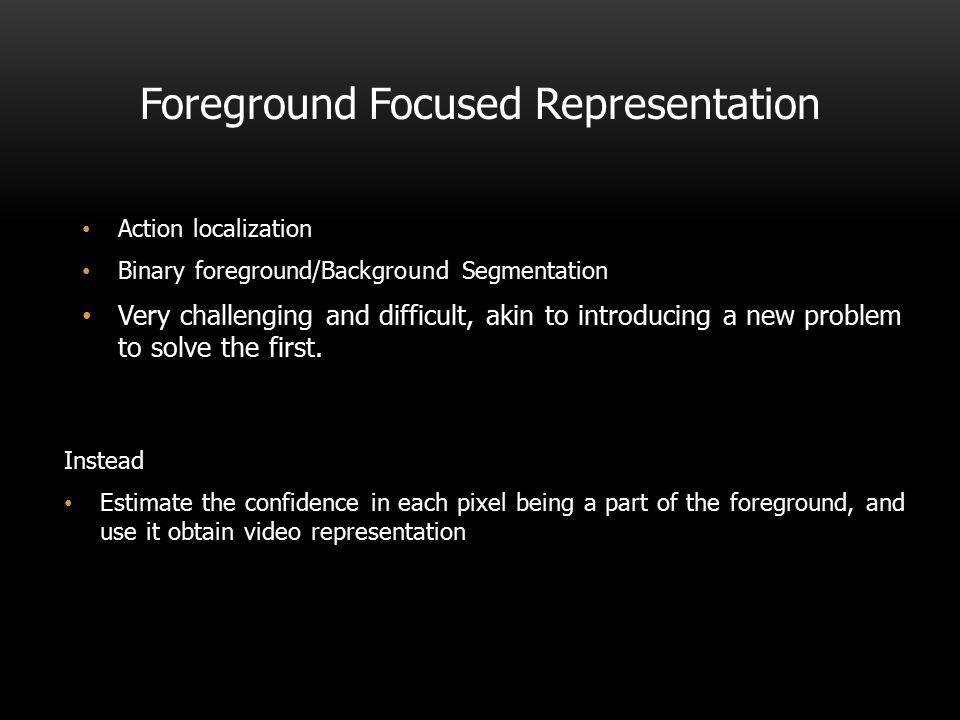 Foreground Focused Representation