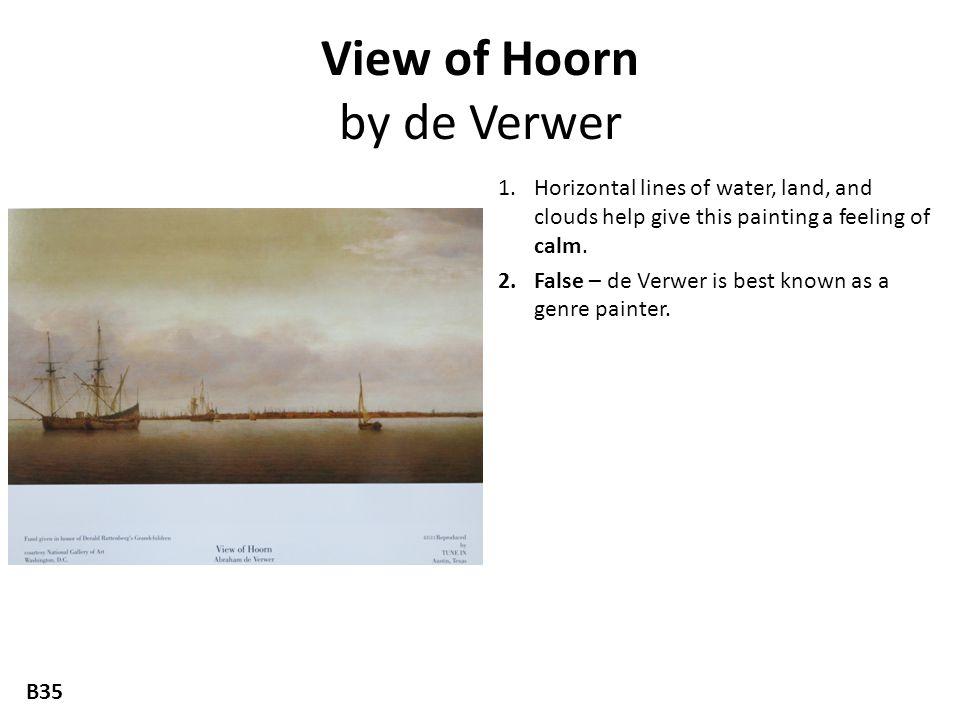 View of Hoorn by de Verwer