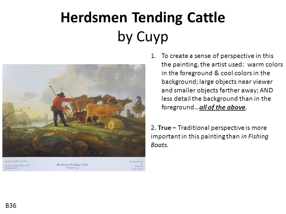 Herdsmen Tending Cattle by Cuyp