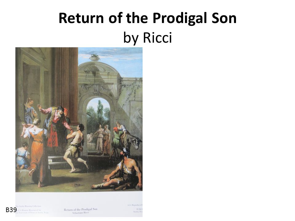 Return of the Prodigal Son by Ricci