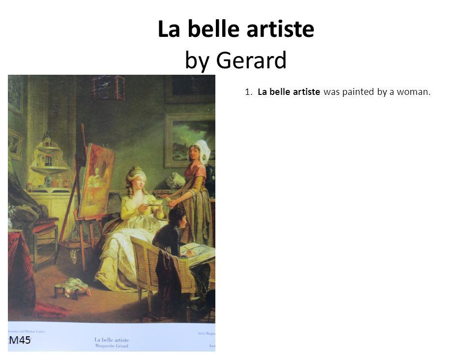 La belle artiste by Gerard