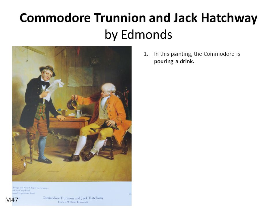 Commodore Trunnion and Jack Hatchway by Edmonds