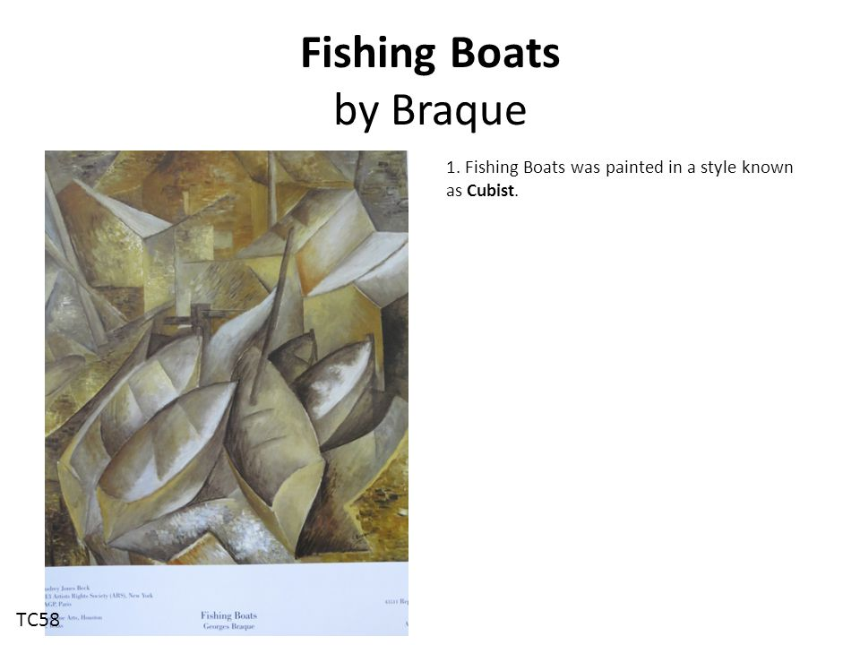 Fishing Boats by Braque