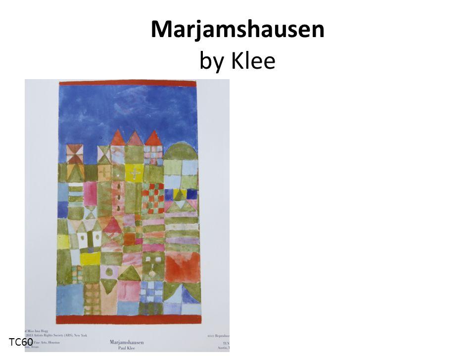 Marjamshausen by Klee TC60