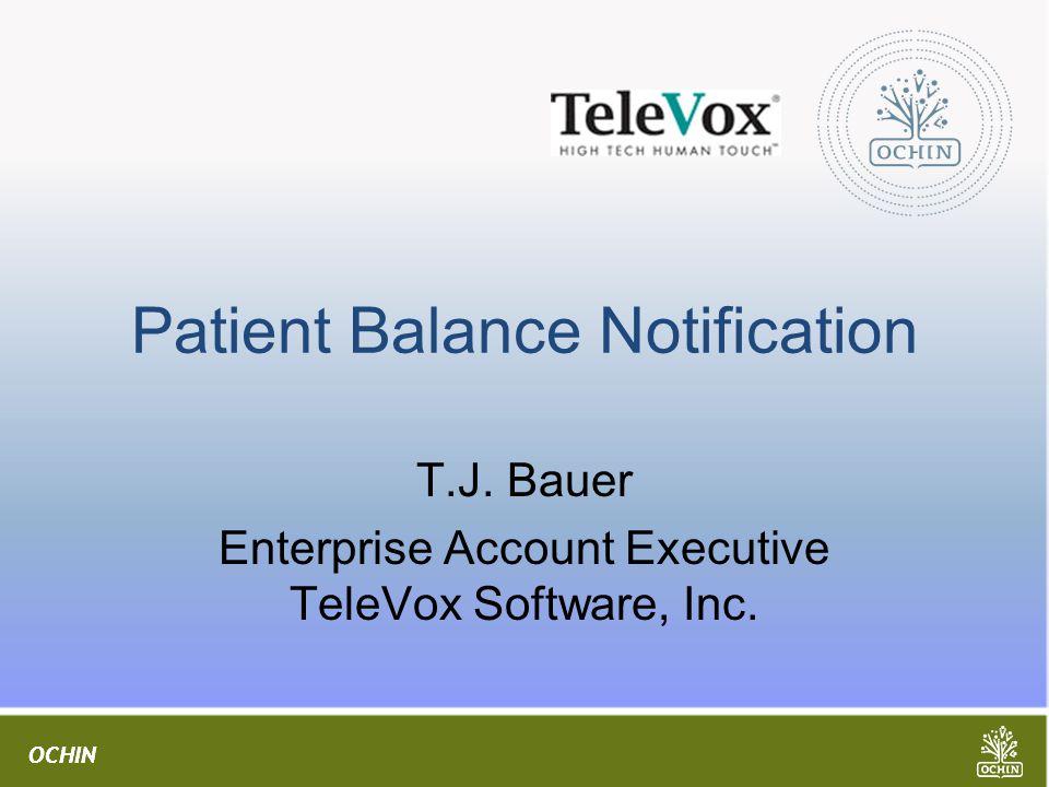 Patient Balance Notification
