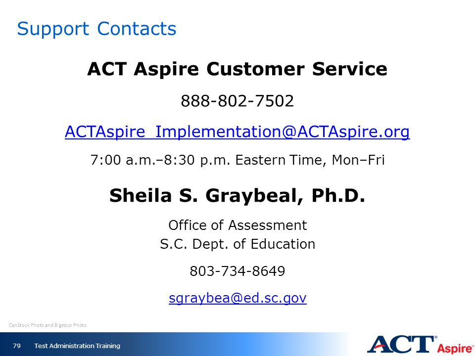 ACT Aspire Customer Service