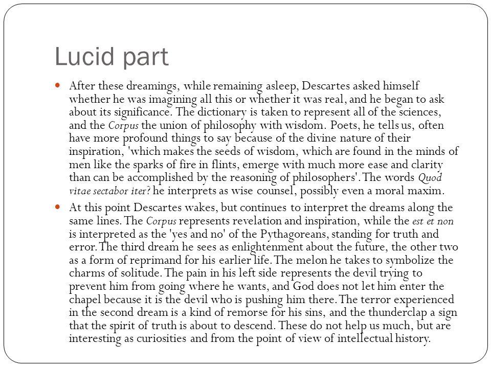 Lucid part