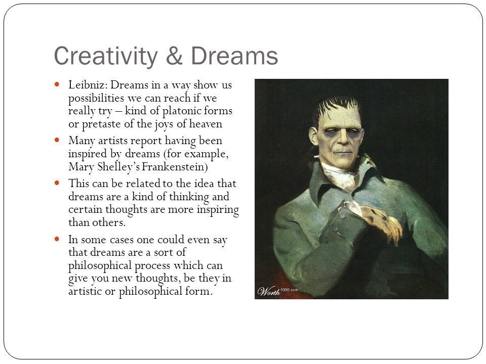 Creativity & Dreams