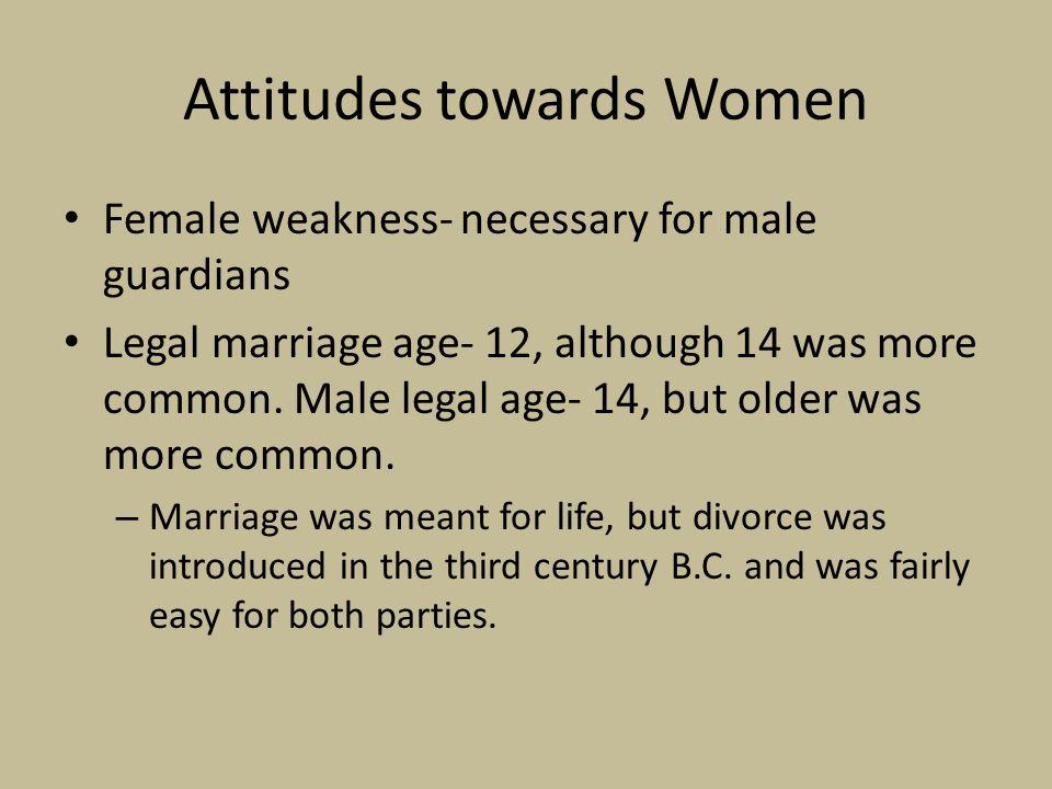 Attitudes towards Women