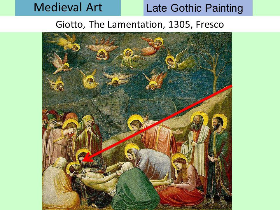 Giotto, The Lamentation, 1305, Fresco