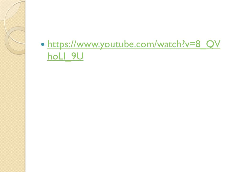 https://www.youtube.com/watch v=8_QV hoLl_9U